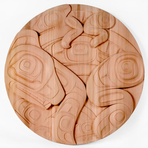 Motherhood - Red Cedar Panel