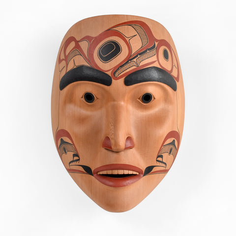 Speaker For the Chief - Red Cedar Mask