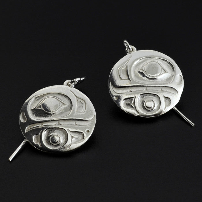 Killerwhale - Silver Earrings