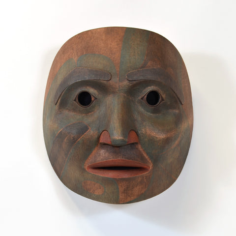 Laxsgiik Dancer - Red Cedar Mask