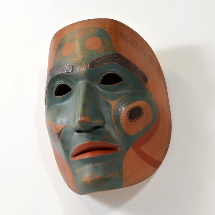 Halibut Fisherman - Red Cedar Mask