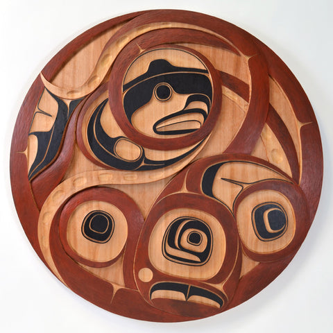 Hutsul - Red Cedar Panel