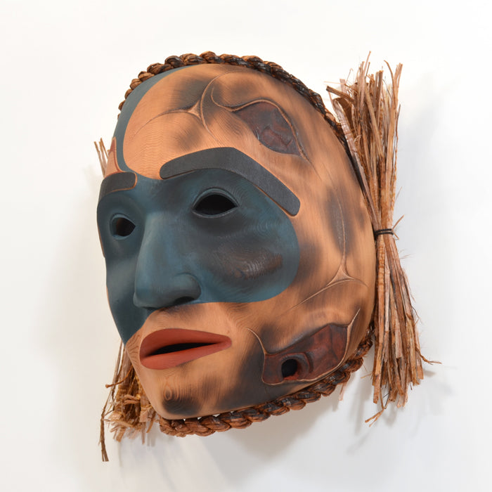 Must Not Fear - Red Cedar Mask