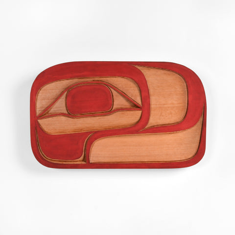 Salmon Trouthead - Red Cedar Panel