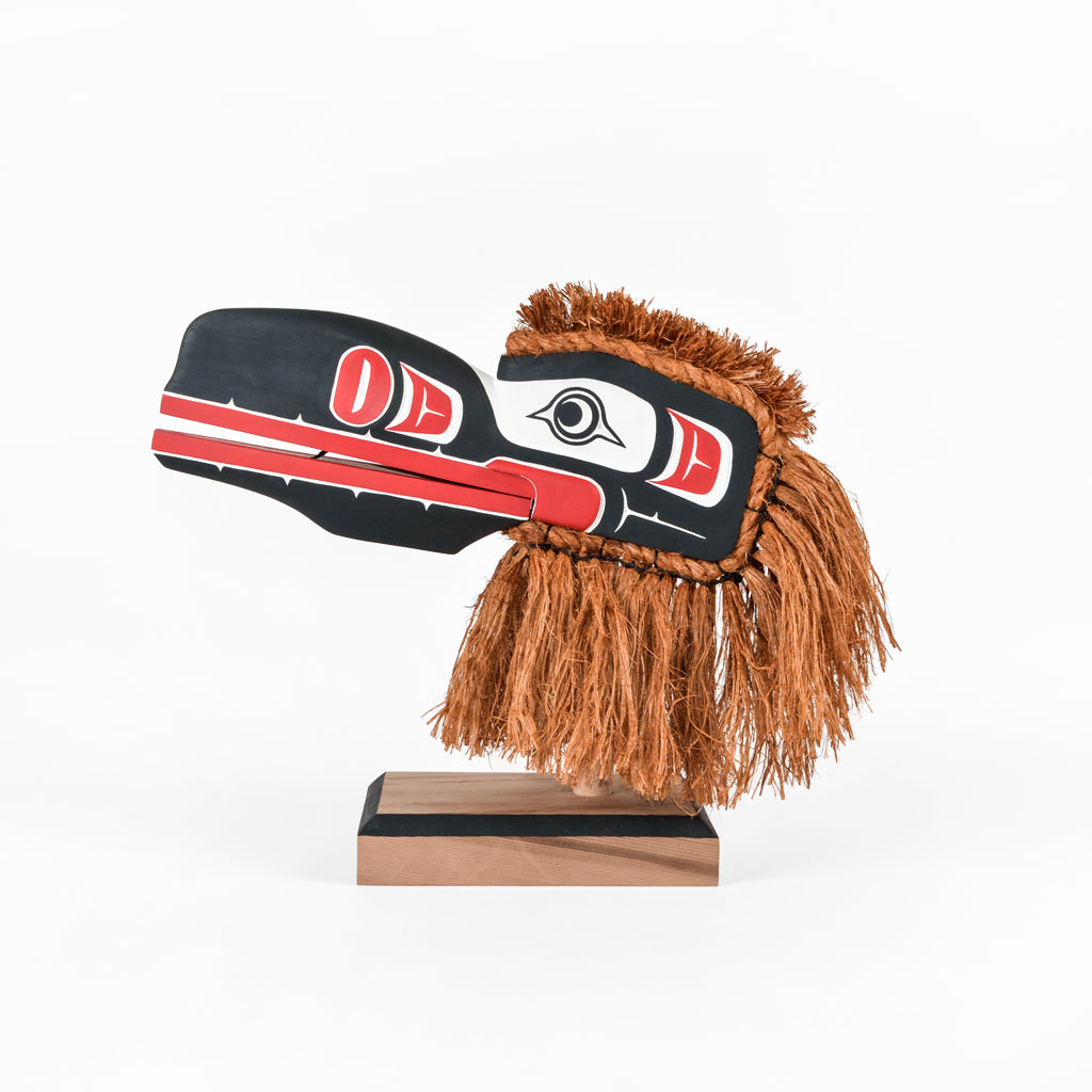 Cannibal Raven - Red Cedar Mask