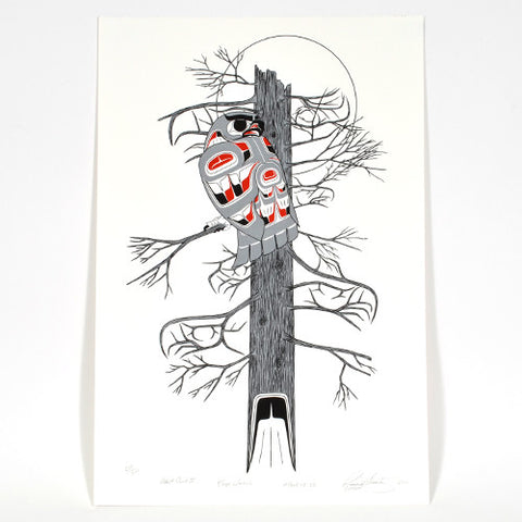 Alert Owl II: Keep Watch - Limited Edition Print
