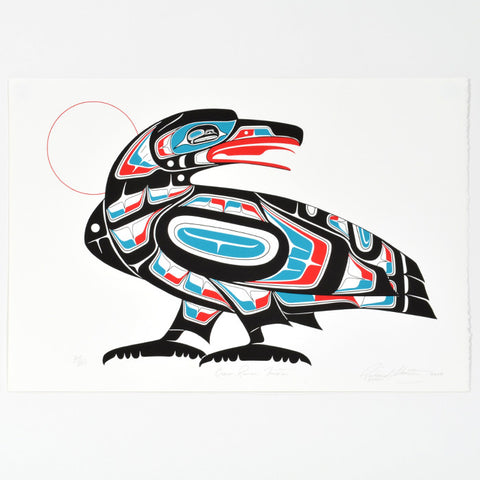Crow Raven Trixter - Limited Edition Print