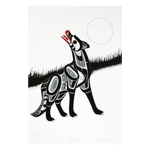 Timber Wolf - Limited Edition Print