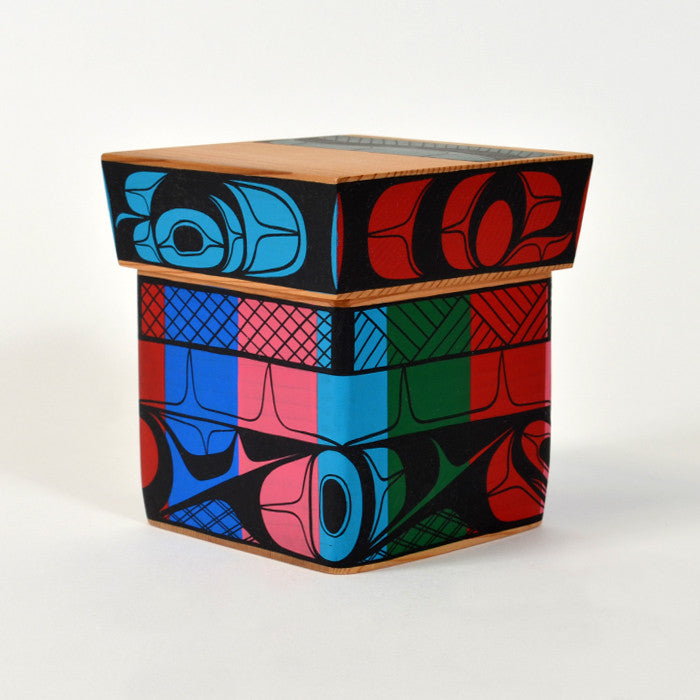 In Living Colour - Cedar Bentwood Box