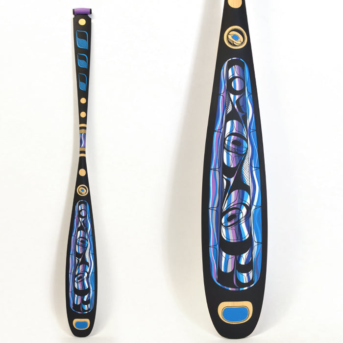 Pulling Together - Yellow Cedar Paddle