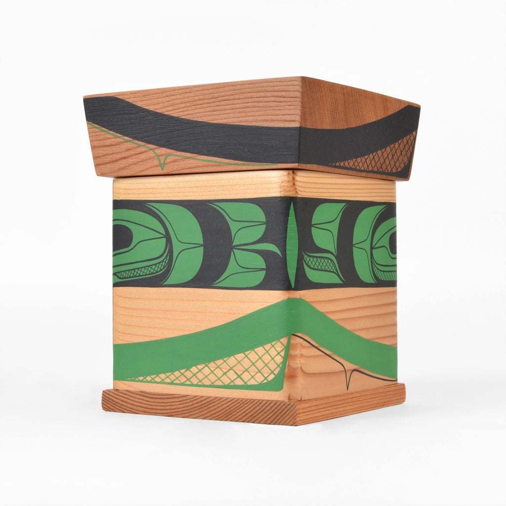 Village Green - Cedar Bentwood Box