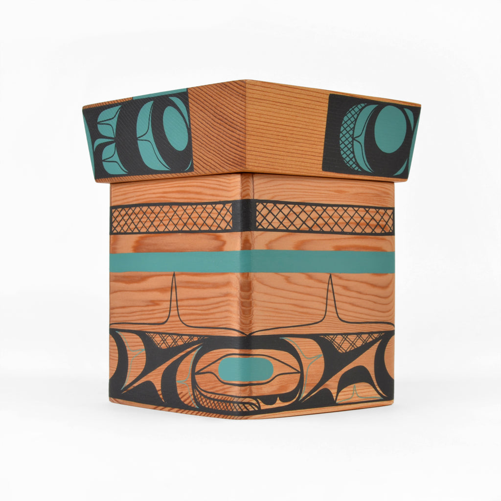 Warm Wind, Warm Water - Red Cedar Bentwood Box
