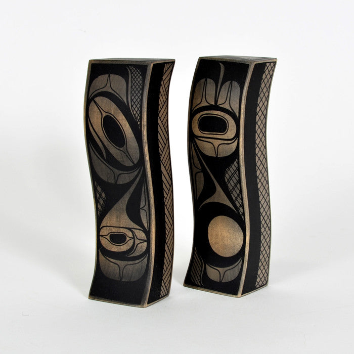 Towers - Basswood Sculpture