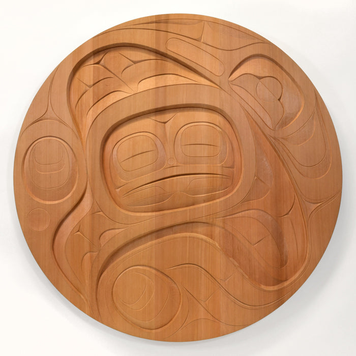 Coming Out to Sing - Red Cedar Panel