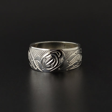 Octopus - Silver Ring
