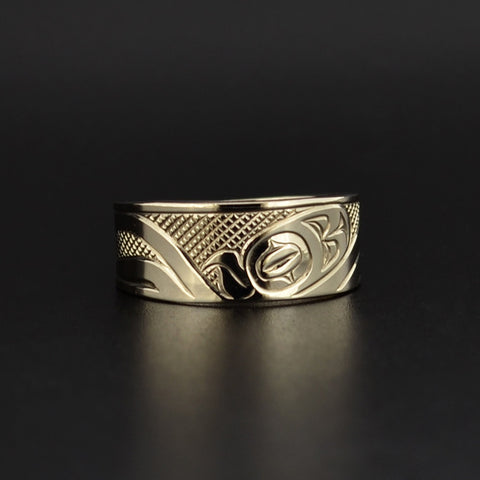 Octopus - 14k Gold Ring