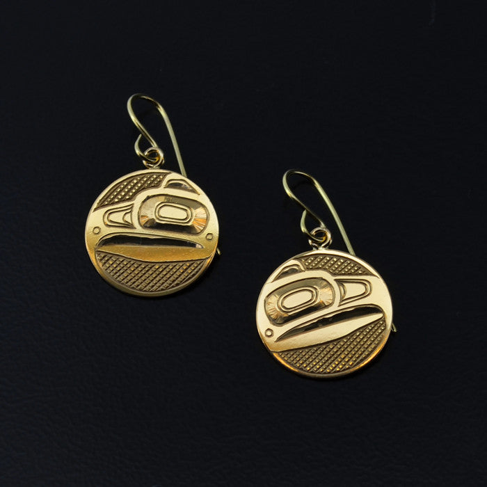 Eagle - 14k Gold Earrings