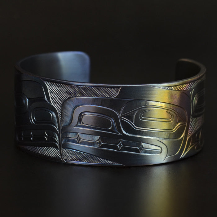 Eagle-Raven Transformation - Titanium Bracelet