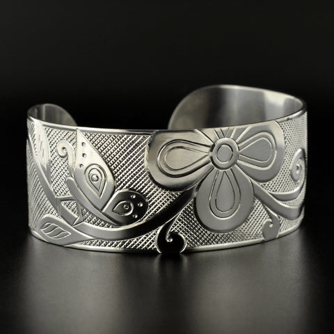Butterly Metamorphosis - Silver Bracelet