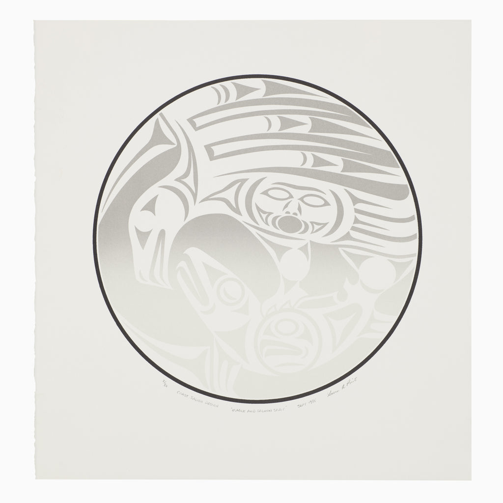 Eagle and Salmon Spirit - Limited Edition Print