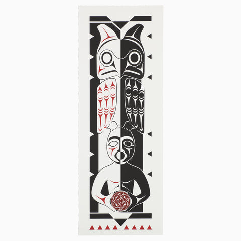 Salish Housepost - Limited Edition Print