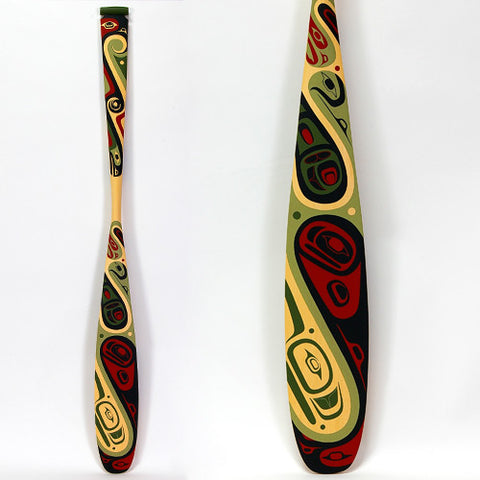 Abstract - Yellow Cedar Paddle