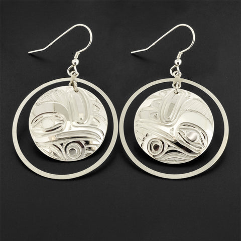 Hummingbird - Silver Earrings