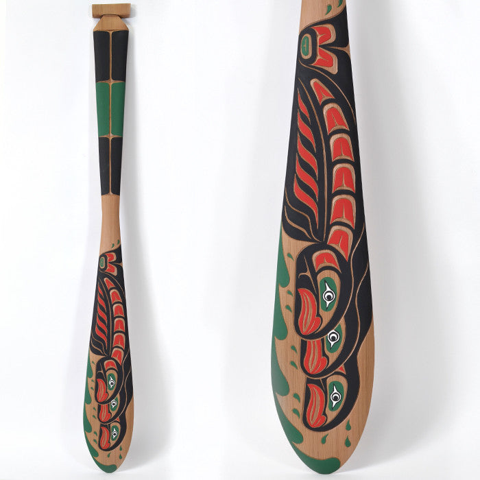 "School of Salmon - 60"" Red Cedar Paddle"