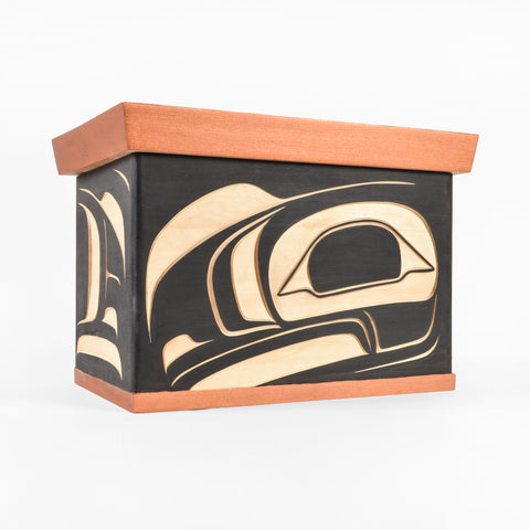 Raven - Bentwood Chest