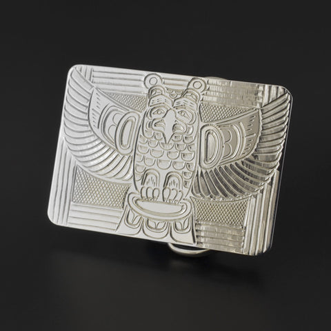Thunderbird - Silver Belt Buckle