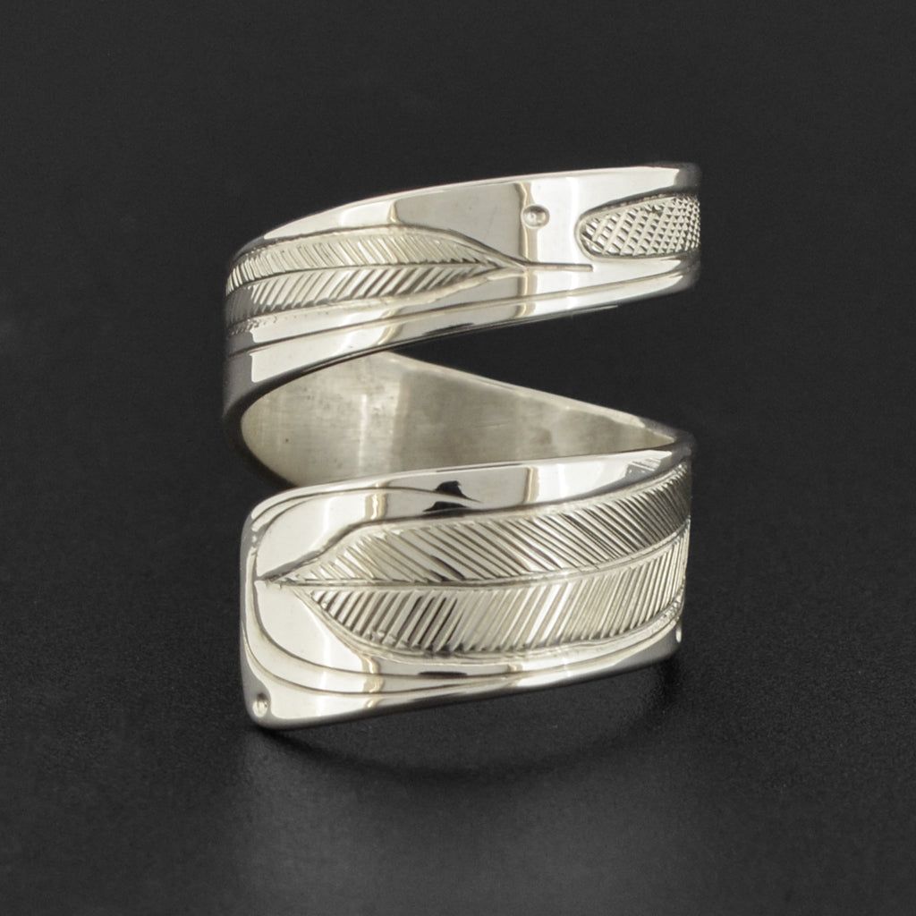 Feathers - Silver Ring
