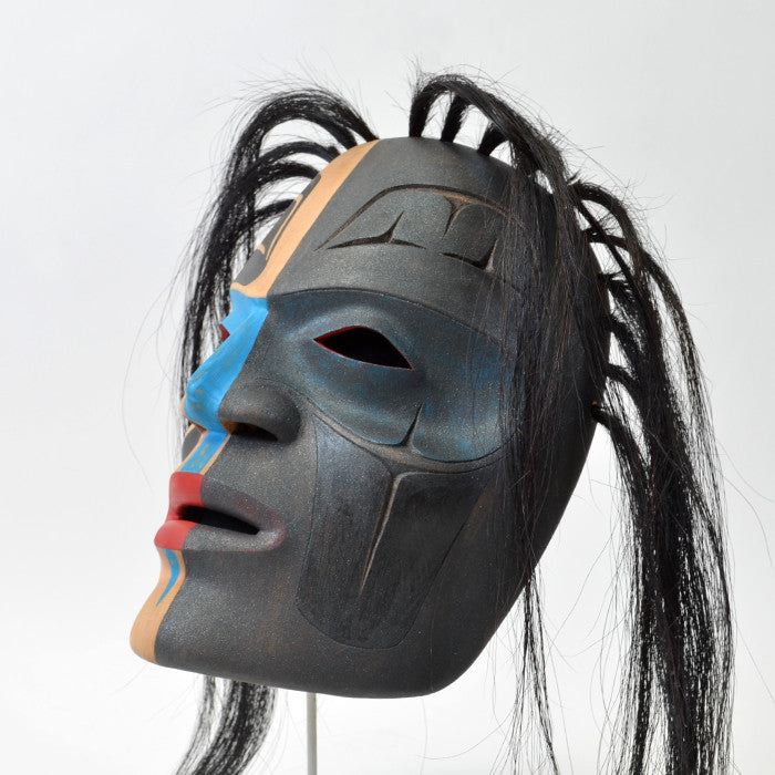 Ridicule Raven Chief - Red Cedar Mask