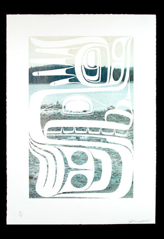 Self-Portrait Masset Inlet - Limited Edition Print