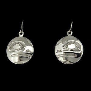 Frog - Silver Earrings