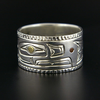 Eagle - Silver Ring