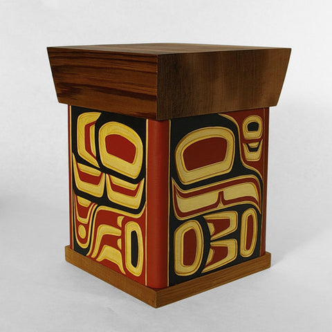 Eagle and Raven - Bentwood Box