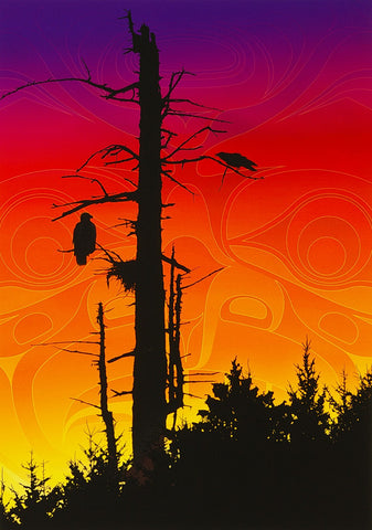 Sunset Summit - Limited Edition Print