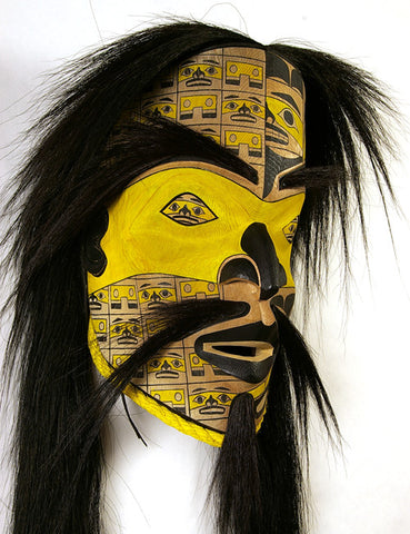 Chilkat Man - Red Cedar Mask