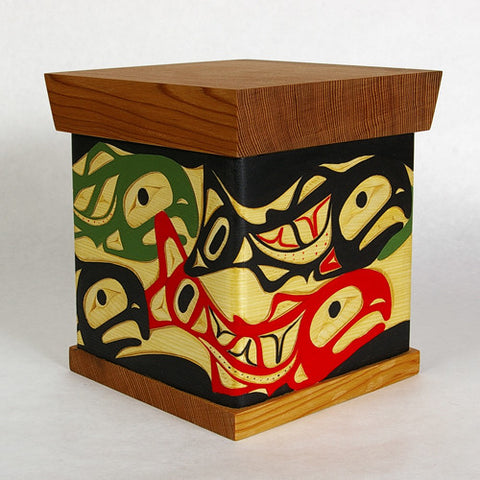 School of Salmon - Bentwood Box