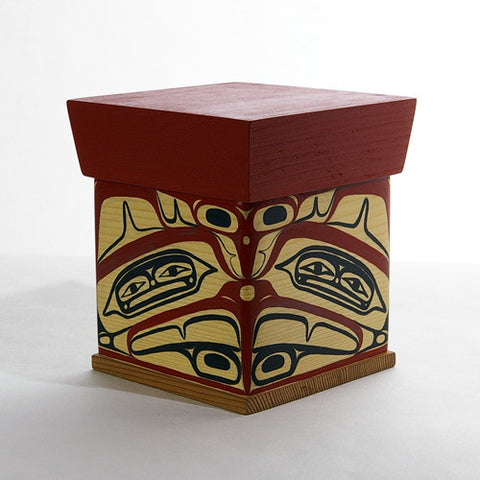 Hawk - Cedar Bentwood Box