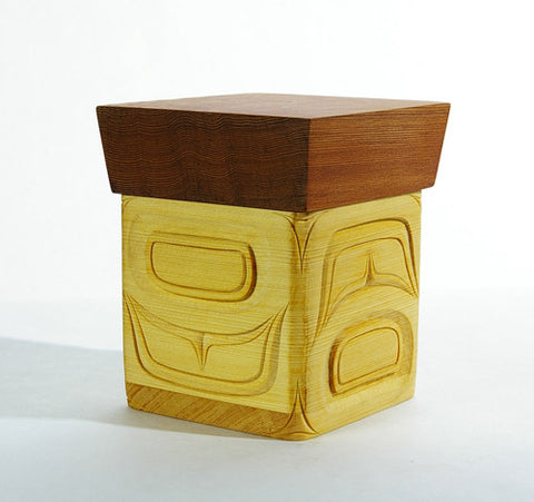 Surprise Inside - Cedar Bentwood Box