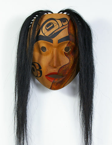 T'xamsem Steals Fire - Red Cedar Mask