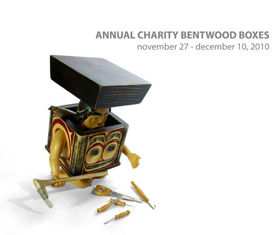 Lattimer Gallery - Charity Bentwood Boxes 2010 - Books