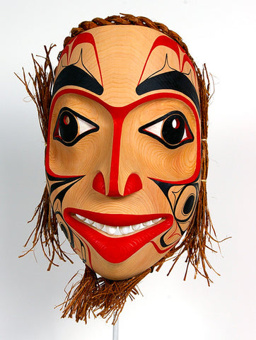 Northern Lights - Red Cedar Mask