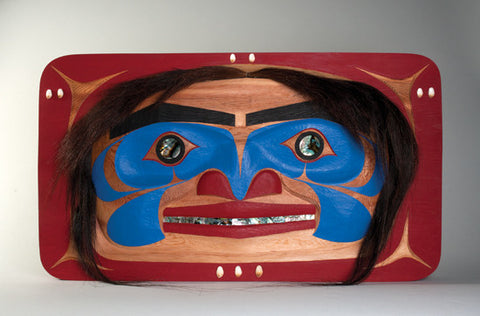 Potlatch Face - Red Cedar Panel