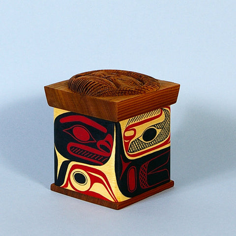 Creation - Cedar Bentwood Box