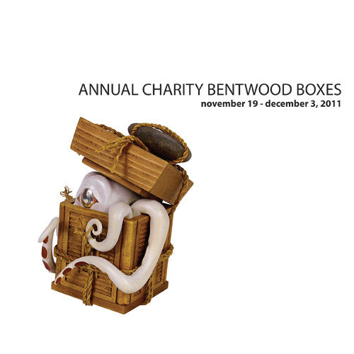 Lattimer Gallery - Charity Bentwood Boxes 2011 - Books