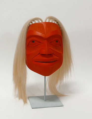 Sea Anemone - Red Cedar Mask