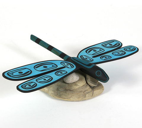 Dragonfly - Red Cedar and Basswood Sculpture