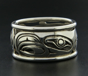 Salmon - Silver Ring